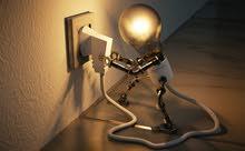 أعمال صيانة الكهرباء / تركيب شاشات واطباق وريسيفرات