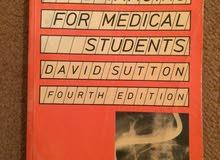 كتاب لطلبة كلية الطب بعنوان : Radiology and Imaging for Student