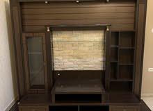مكتبة TV حائطية