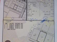 للبيع ارض سكنية في المعبيلة خلف ملعب الكريكت مباشرة