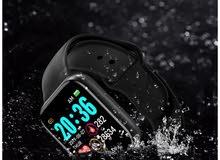 ساعة رياضية ممتازة ضمان سنة وضد الماء