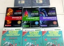 CBSE Class XI and XII books (guides) for sale.