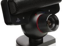 كاميرات PS3 EYE مع مسدس بالكرتونه