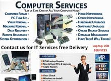Laptop, Mac book and Computers Repair services software and hardware