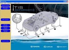 وصلة Techstream تويوتا تقوم على عمل كافة برمجيات سيارة ( TOYOTA - LEXUS ).