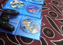 بيع يدات PS4 و اقراصه