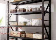 رفوف مستودعات بيوت بأقل الاسعار. التركيب والتوصيل مجانآ