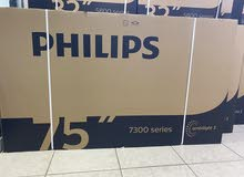"Philips 75"" smart 4K android led tv brand new for sell"