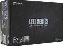 zalman 500w LE2 series power supply مزود طاقة 500واتت من شركة زالمان