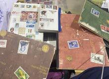 بيع طوابع بريديه قديمه ونادره