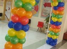 تنظيم حفلات اعياد ميلاد وكل ماهو جديد في تنظيم الاعراس والعاب الاطفال