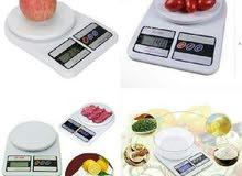 ميزان مطبخ حساس ديجتال يعمل بالبطاريات يزن حتي 10 كيلو سوبر لوكس