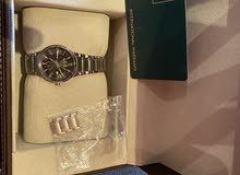 للبيع ساعة جوفيال نساءي اصلية 100%مع العلبة والقرانتي غير مستخدمة فقط مقصر السير