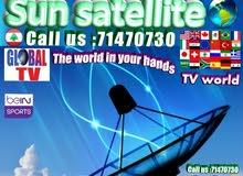 Sun satellite تركيب ستلايت