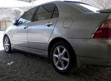 Gold Toyota Corolla 2007 for sale