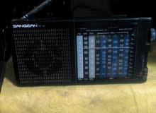 راديو sangean كوري متفتحش بحالة الزيرو 11 موجه