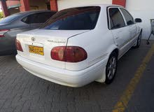 Used condition Toyota Corolla 2000 with +200,000 km mileage
