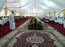 Tents rentals for Ramadan wedding or parties