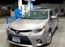 Beige Toyota Corolla 2014 for sale