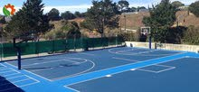 Basketball & Tennis Court