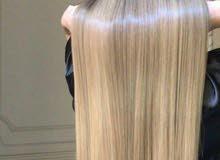 عمل بروتين الشعر اصلي 100٪ ومكفول على يد حنين حرب متوفر في الزرقاء