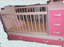 كاونترات المنيوم ب200 سرير طفل ب100