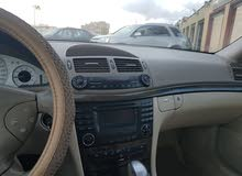 Mercedes Benz E500 car is available for sale, the car is in Used condition