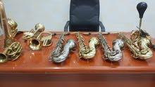 saxophone trumpet.