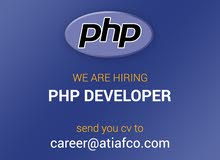 Web developer - PHP