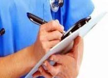 ممرض لتقديم الخدمات التمريضيه