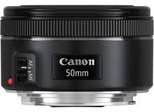 عدسة كانون 50mm f/1.8 STM جديدة