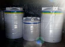 خزانات مياه بلاستيك 3 طبقات توصيل وتركيب داخل عمان الزرقاء السلط