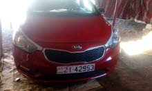 Kia Cerato 2014 For Rent - Red color