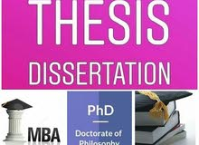 MBA, BBA Thesis and Assignment Help