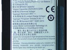 مطلوب بطارية داخلية لتليفون لينوفو النوع موديل لينوفو s1a40 VIBE