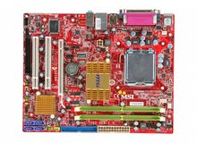 MSI Board + Dual-Core CPU + 2GB RAM