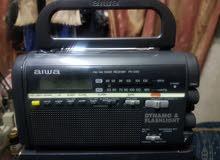 راديو أثري قديم ونادر تعبئة مانوال aiwa