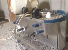 ماكينة قهوه بازيرا وماكينة تحليه مياه للبيع