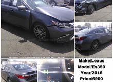 Lexus ES 2016 For sale - Grey color