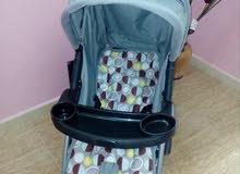 عربات اطفال ومقاعد ممتازة استعمال بسيط لمدة شهر