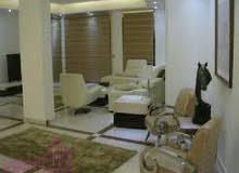 للايجار مفروش شقة بمحيط جامعة الدول العربية مساحتها 210م