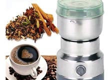 مطحنه بن قهوه جهاز طحن الحبوب قهوه و البهارات و الرز
