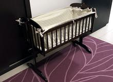 Small baby swinging bed