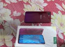 جهاز oppo F9 للبيع نضافه 99% اخو الجديد كامره 25MP ذاكره 64GB بصمة اصبع بصمة وجه