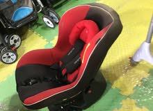 كرسي سياره اوروبي ماركه good baby اصلي مستخدم من حديث الولاده لغايه 5 سنوات ضهر متحرك