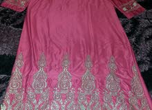 فستان هندي مطرز