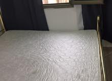 سرير 160*190 ومرتبة جديدة