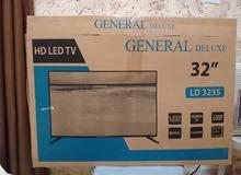 شاشة  LED - General Deluxe 32 جديدة للبيع مع رسيفر