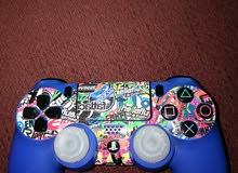 يدة PS4 اصلي ازرق حالة جيدة جدا