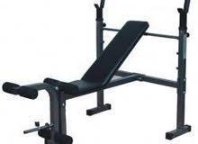 بنش الحديد لبناء عضلات الجسم والياقه بسعر رائع